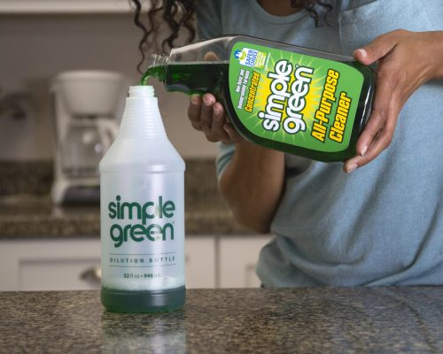 simple green plastenka prsilka mesanica spray sprej dozirka